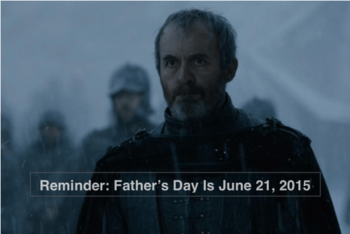 game of thrones memes season 5 Stannis won't be getting anything this year.