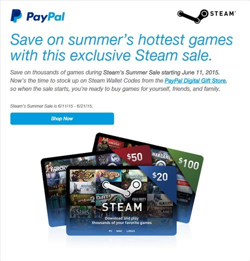 paypal steam sale Video Game Coverage - 8506397952