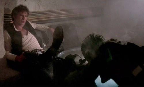 geek memes star wars script proves han shot first