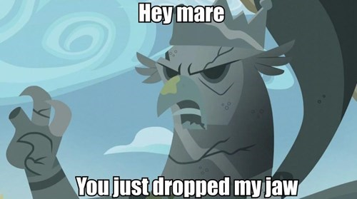 griffon,pick-up lines,MLP