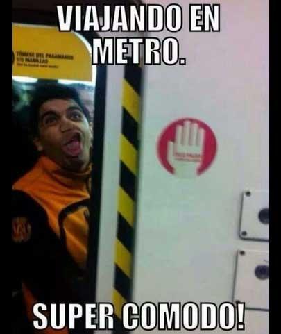 viaja en metro