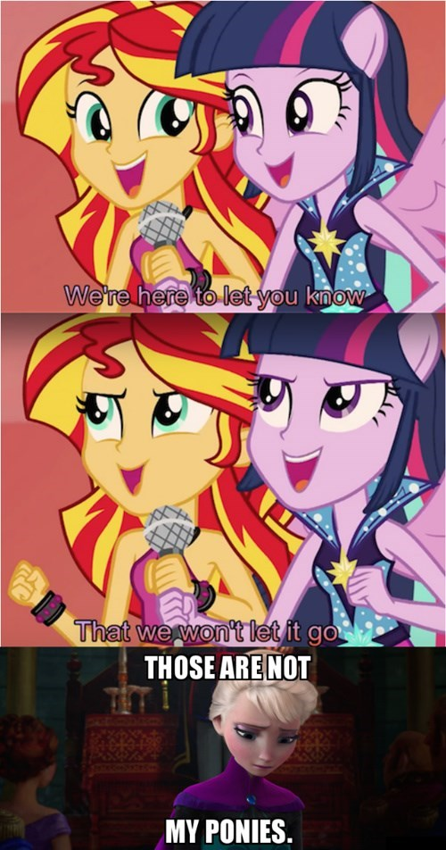 twilight sparkle,frozen,sunset shimmer