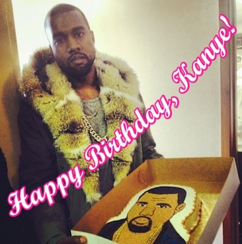 It's Kanye West's birthday. Everyone celebrate