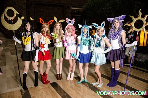 Sailor Eevee Scouts are the Very Best at Punishing You