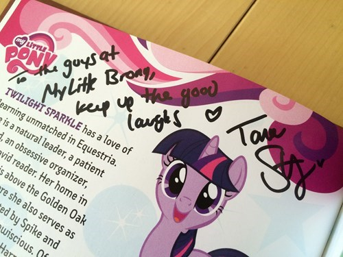 my little brony tara strong brony conventions