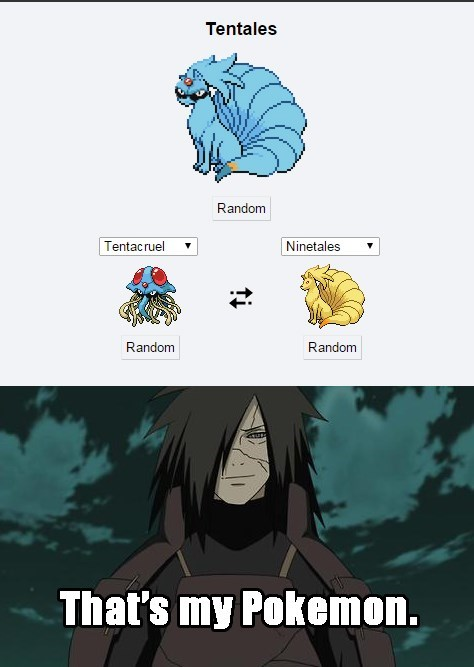 Pokémon pokemon fusion anime naruto - 8506660864
