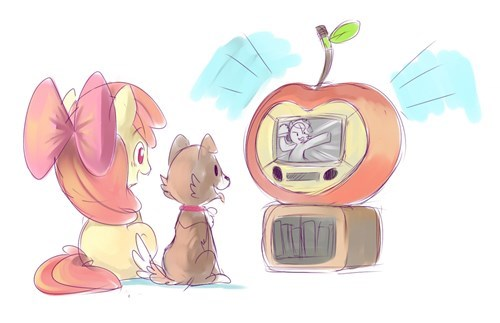 applebloom puns TV apple - 8506669056