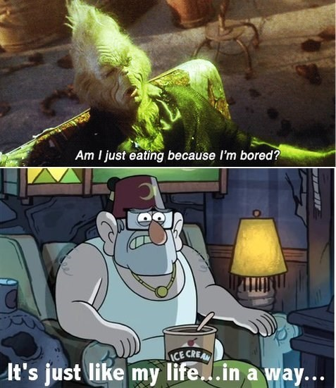the Grinch gravity falls cartoons - 8506670336