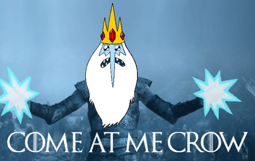 crossover Game of Thrones cartoons adventure time - 8506878976