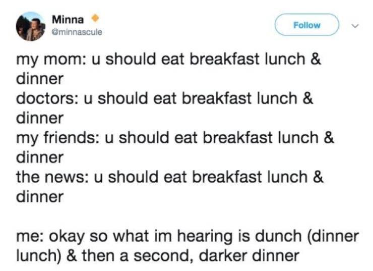 funny food tweets twitter