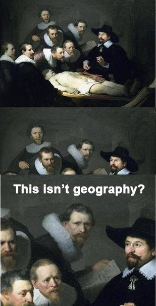 classical art memes from medieval times - Poster - This isn't geography?