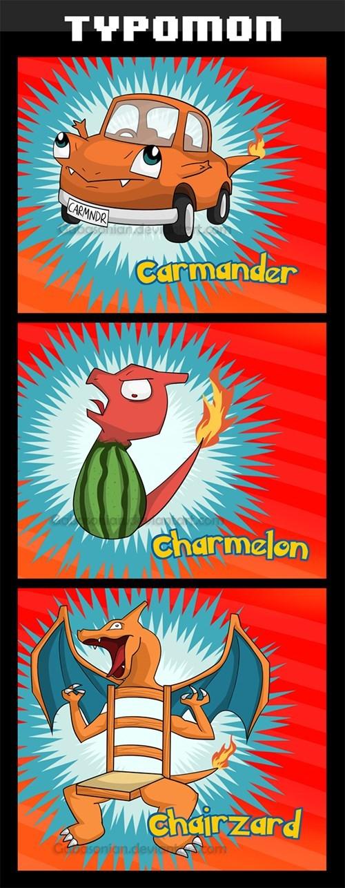 pokemon memes typo names