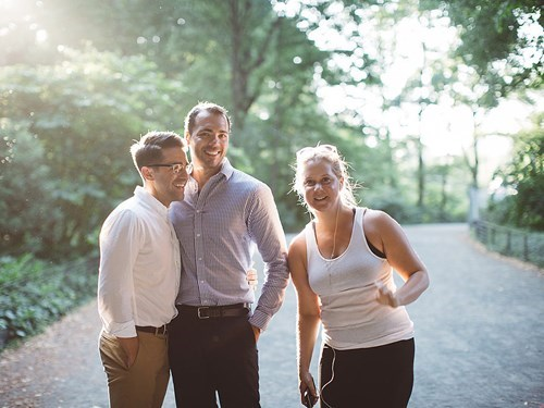 Engagement photos don't mean a thing without Amy Schumer