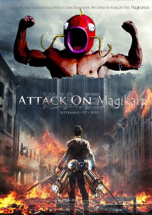 Action-adventure game - ON THAI DAY MANKIND RECEIVEDA GRIM REMINDER. WE LIVED IN FEAR OF THE Magkarps ATTACK ON Magikarp SEPTEMBER 07 2018 DIRECTOR OFOAn AJIM UT OUJLAIMA ISAYAMAHAME DCTID TAA KOUT TAMA FILM