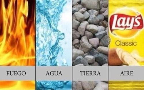 fuego aire tierra agua
