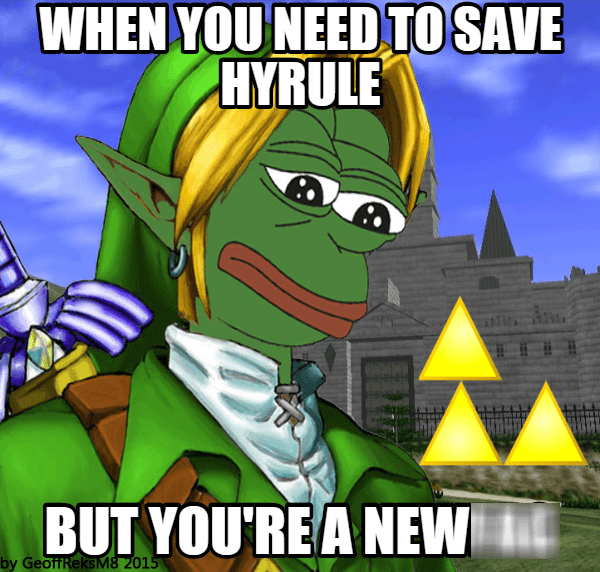 pepe legend of zelda - 8508101632