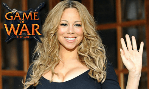 video game news mariah carey game of war