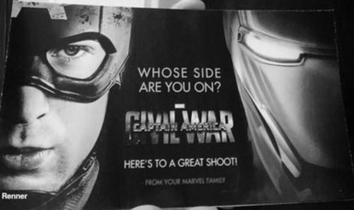 superheroes-captain-america-marvel-civil-war-promotional-material-renner-tweet