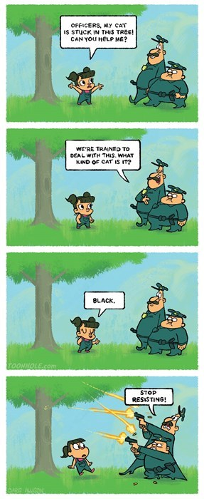 funny-web-comics-to-protect-and-serve