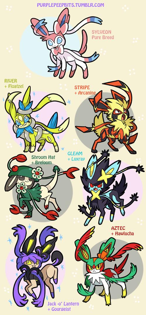 pokemon memes sylveon variations