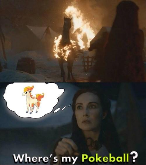 pokemon memes melisandre ponyta