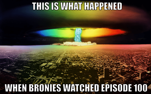brony fandom 100th episode - 8508907776