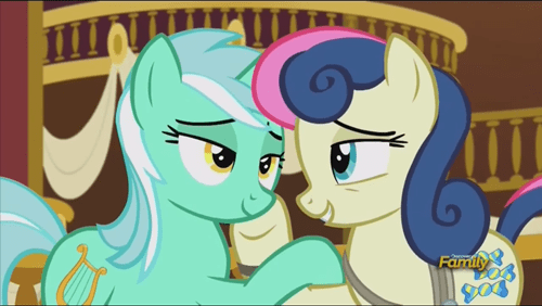 lyra,best friends,i ship it,100th episode,bon bon
