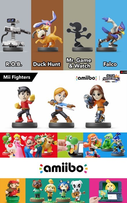 video game news ryu roy smash fighters new amiibos