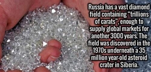 russia diamonds - 8509323264