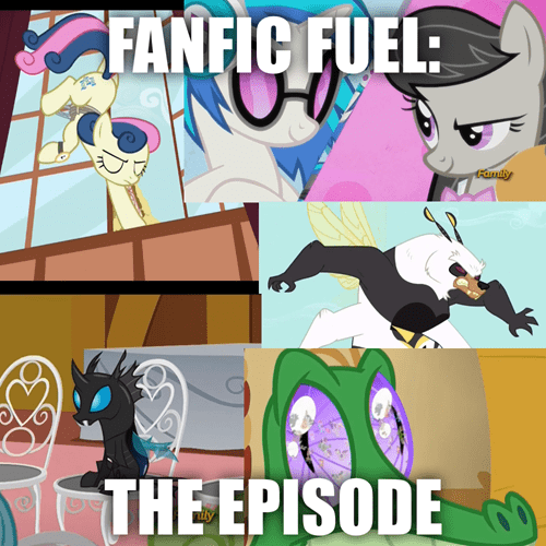 fan service,MLP,100th episode,fanfic