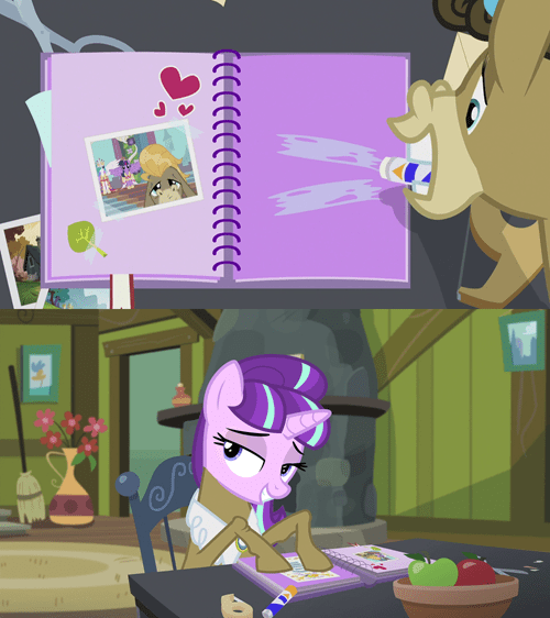 starlight glimmer scrapbooking equalists - 8509513216