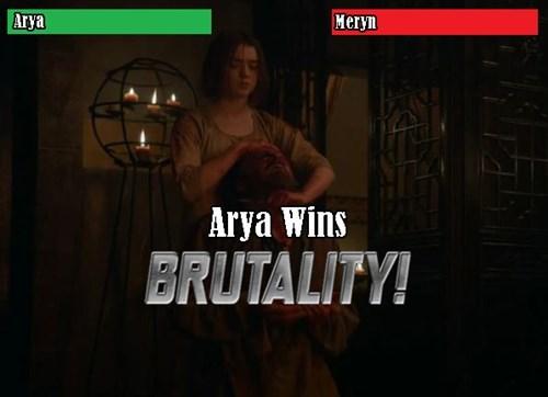 Font - Aгya Мегyn Arya Wins BRUTALITY!