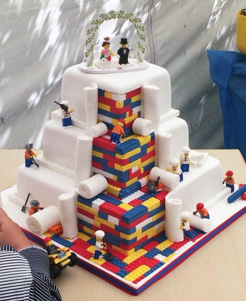 cool lego wedding cake Brick By Delicious Brick