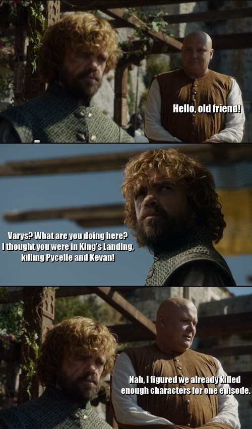 Game of Thrones Memes season 5 varys tyrion lannister - 8509620480