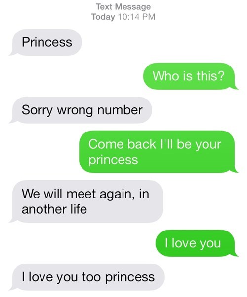 A Love Story in 7 Text Messages