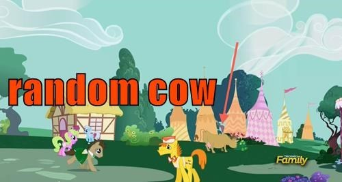 background pony cow MLP - 8509759488
