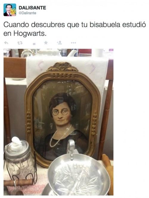 tu abuela estudio en hogwarts