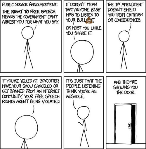 funny-web-comics-the-most-accurate-statement-regarding-the-first-ammendment