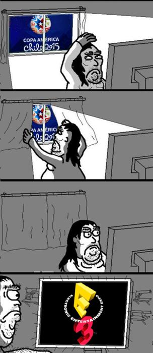 E3 vs Copa America