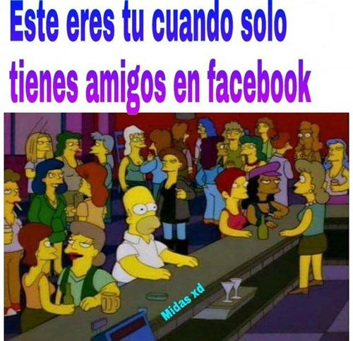 solo amigos en facebook