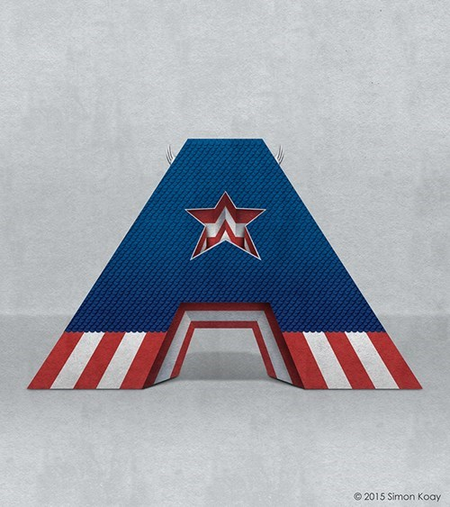 a-is-for-captain-america