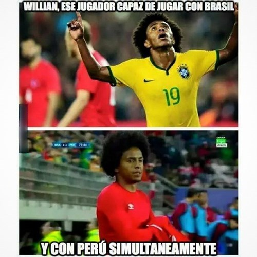 Jugador Brasil Peru