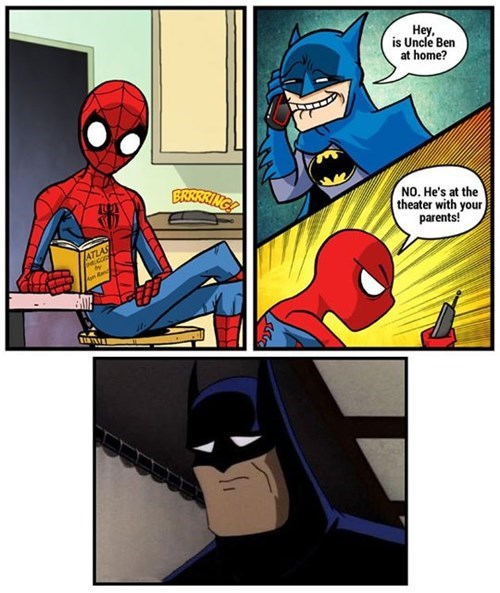 superheroes-batman-dc-spider-man-uncle-ben-prank-call
