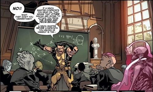 superheroes-wolverine-marvel-x-men-panel-ninja-training