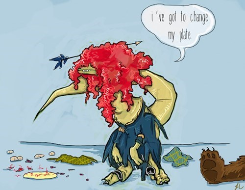 Cartoon - i've got to change nmy pate Tit