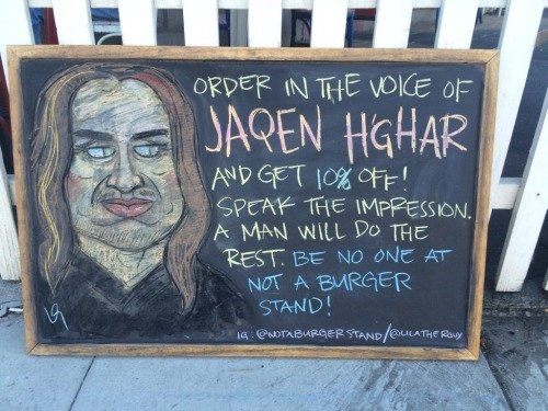 Game of thrones memes season 5 Jaqen Hghar impressions are great until someone gets whipped.