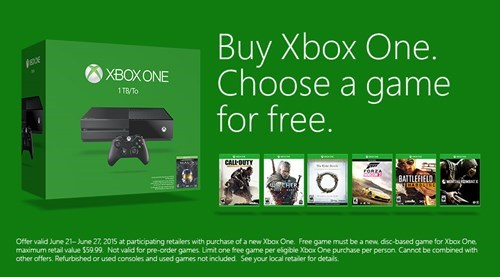 video game news xbox one bundle free game