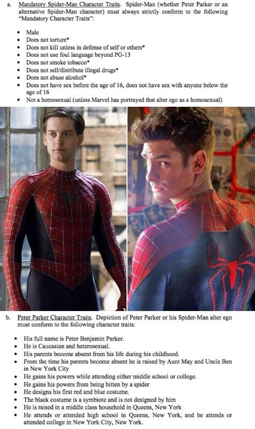 superheroes-spider-man-marvel-rules-for-sony-about-portrayal