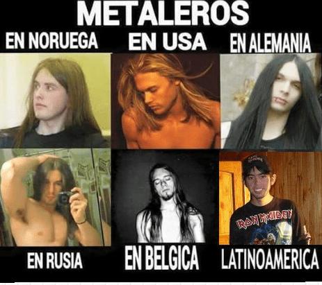 metal en el mundo