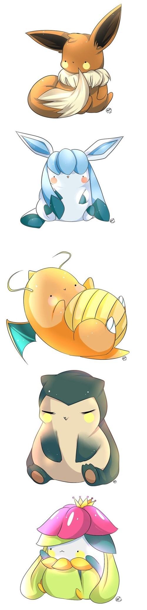 Pokémon Fan Art cute - 8511803648
